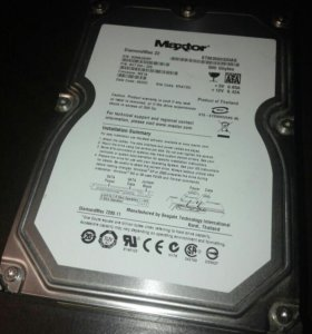 "HDD 3,5"" Maxtor 500GB , есть битые сектора"