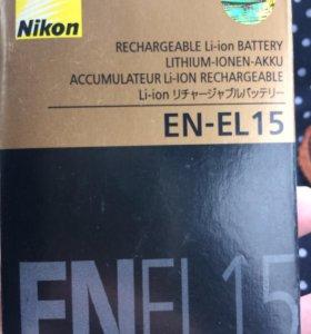 Аккумулятор для фотоаппарата Nikon новый