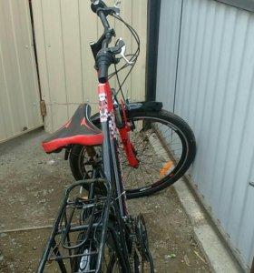 Велосипед жен. Green way,21 скорость