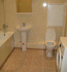 Ремонт ванной и туалета частично и под ключ