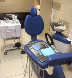 Стоматологическая установка. Смаил мини 04