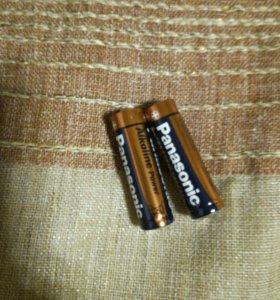 Батарейки 3а мизиньчикавые