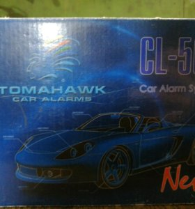 Автосигнализация tomahawk cl-500