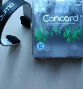 Отличные Bluetooth наушники Qumo Concord