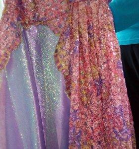 Платье ручной работыдля девочки 5-7 лет