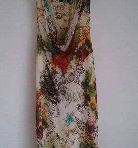 Платье шелковое,германия