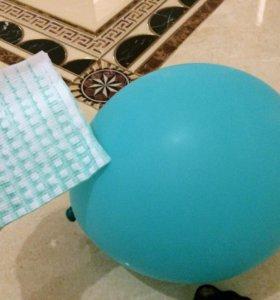 Салфетка + шарик