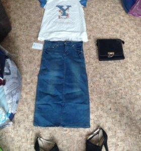 Юбки, майки, футболки