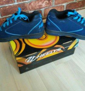 Хилесы торг Heelys ботинки на колесиках 38 размер