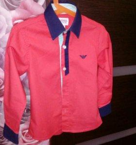 Рубашка для мальчика 4-6 лет