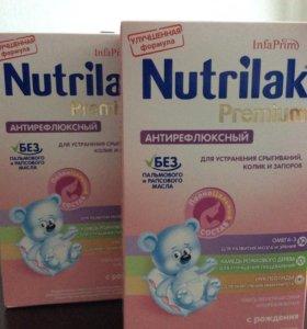 Детская смесь Nutrilak Premium антирефлюксный