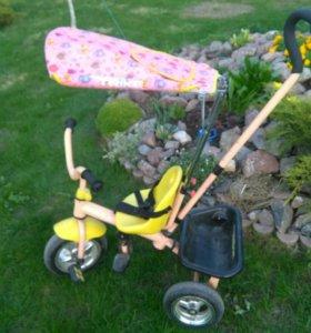Детский трех-колесный велосипед