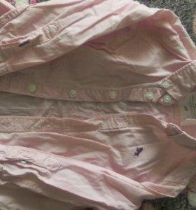 Рубашка и кофта от 1,5 до 2лет