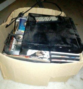 DVD плеер с дисками