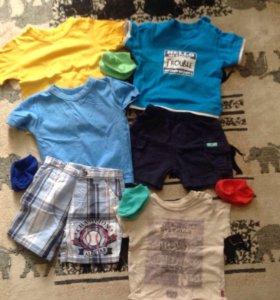 Летняя детская одежда пакетом