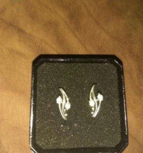 серьги (серебро)