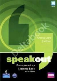 Учебник и раб. тетрадь SpeakOut Pre-Intermediatе