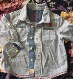 Рубашка на мальчика 69/74