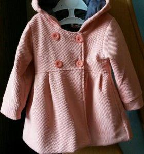 Детское пальто б/у.