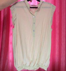Блуза новая из натурального хлопка