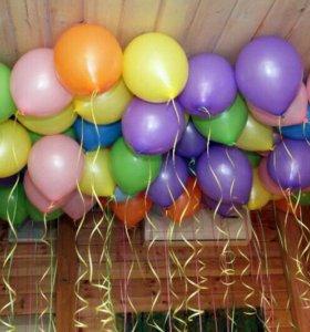 Воздушные шары с гелием и без! Доставка!