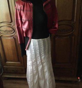 Юбка и куртка