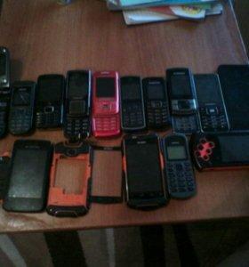 Запчасти все телефоны 1000