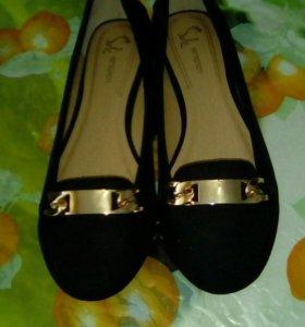 Замшевые туфли (водоотталкивающие)
