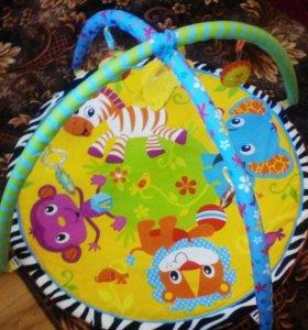 Детский развивающий коврик.+подарок