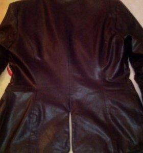 Кожаный пиджачек