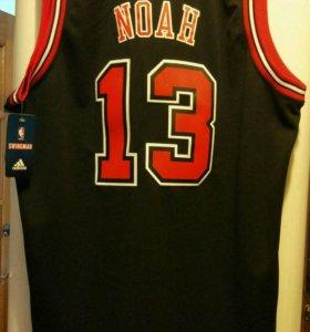 Баскетбольная игровая майка Chicago Bulls. Новая.