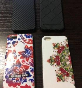 Новые!силиконовые чехлы на айфон 5