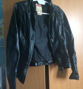 Куртка кож зам xs