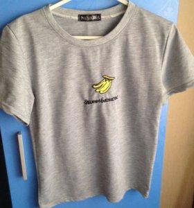 футболка с бананом