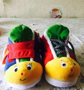 Обучающие ботинки для малышей