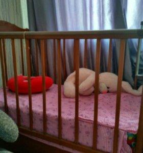 Кровать детская с ящиком