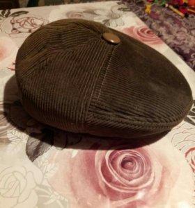 Новая кепка вельвет.