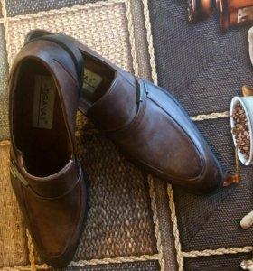 Фирменная кожаная обувь