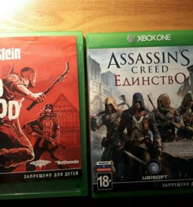 Игры на Xbox one.