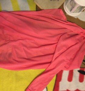 Нежно-розовый кардиган