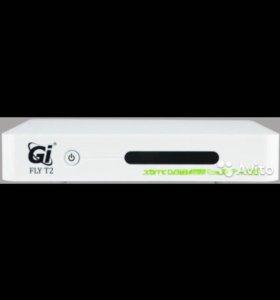 Смарт тв приставка DVB-T2 GI Fly T2