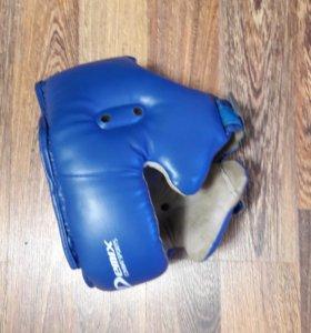 Перчатки боксерские + шлем