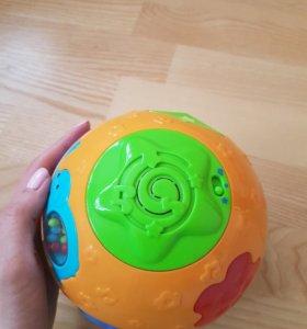Детский музыкальный мяч