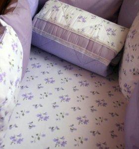Детский комплект в кроватку