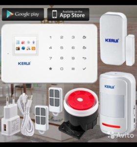 Охранная Сигнализация GSM SMS, MMS/Беспроводная