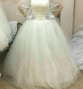Платье свадебное, новое