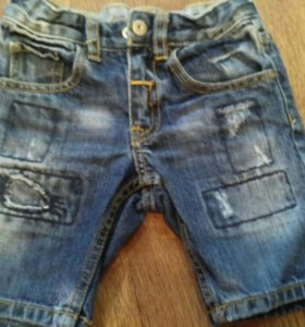 Модные шорты 98р