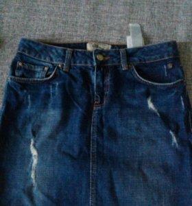 Новая юбка джинс.LTB, размер М