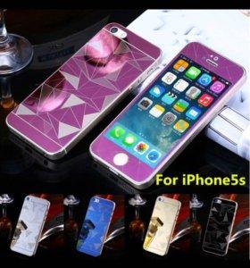 Защитное 3D на iPhone 4/4s,5/5s, 6/6s