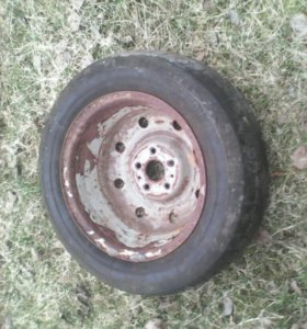 Колёса на шевроле Rezzo и газ 3110